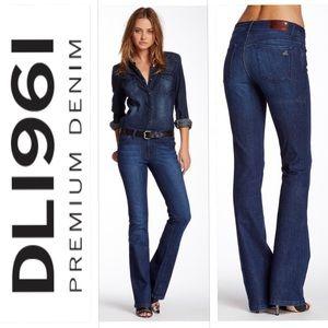 Anthro DL1961 Jennifer High Rise Boot Jeans Sz. 27